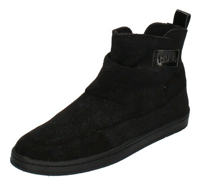 HUB FOOTWEAR Damen - Booties SERVE S37 GLITTER - black