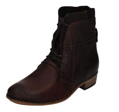 HAGHE by HUB Damenschuhe Stiefeletten HALLY dark brown