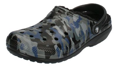 CROCS - CLASSIC LINED GRAPHIC II CLOG - camo black
