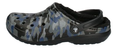 CROCS - CLASSIC LINED GRAPHIC II CLOG - camo black preview 2