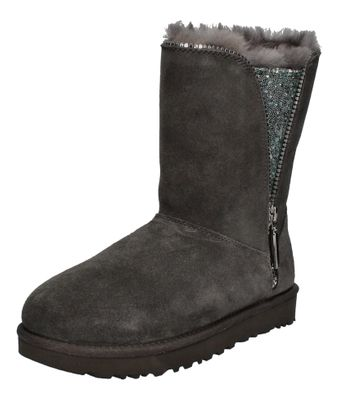 UGG Damenschuhe Stiefel CLASSIC ZIP BOOT 1103764 charcoal preview 1
