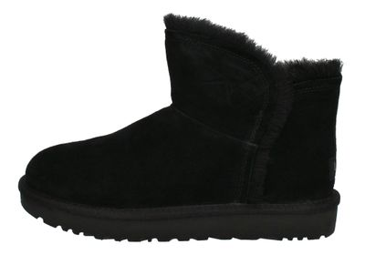 UGG Stiefeletten CLASSIC MINI FLUFF HIGH LOW 1103745 black preview 2