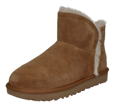UGG - CLASSIC MINI FLUFF HIGH LOW 1103745 - chestnut