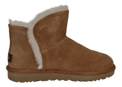 UGG - CLASSIC MINI FLUFF HIGH LOW 1103745 - chestnut preview 4