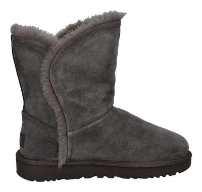 UGG - CLASSIC SHORT FLUFF HIGH LOW 1103746 - charcoal preview 4
