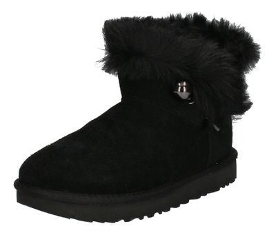 UGG Stiefeletten CLASSIC FLUFF PIN MINI 1105609 - black preview 1