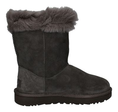 UGG Damenschuhe Stiefel CLASSIC FLUFF PIN 1103642 charcoal preview 4