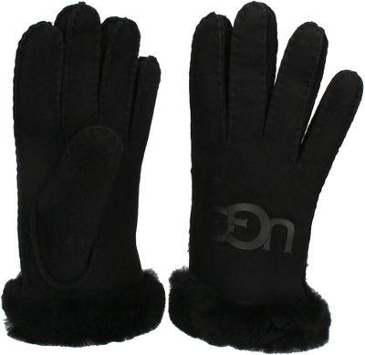 UGG - Lammfell-Handschuhe SHEEPSKIN LOGO GLOVE - black