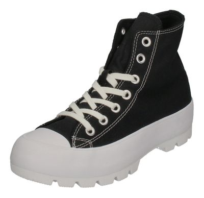 CONVERSE Sneakers - CTAS LUGGED HI 565901C black white