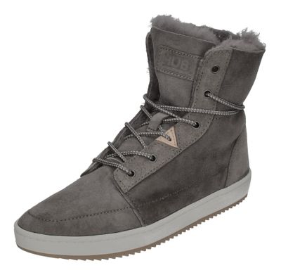 HUB FOOTWEAR Damen Booties CHESS 2.0 S36 PELT charcoal