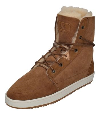 HUB FOOTWEAR Damen Booties CHESS 2.0 S36 PELT brown