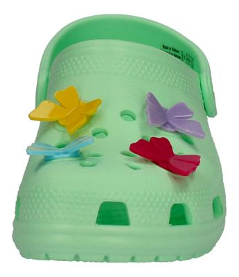 CROCS Kids - CLASSIC BUTTERFLY CHARM  CLOG - neo mint preview 3