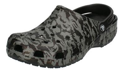 CROCS Schuhe - Clogs CLASSIC PRINTED CAMO CLOG - black