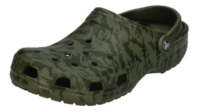 CROCS - Clogs CLASSIC PRINTED CAMO CLOG - army green