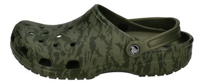 CROCS - Clogs CLASSIC PRINTED CAMO CLOG - army green preview 2
