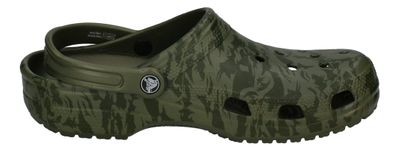 CROCS - Clogs CLASSIC PRINTED CAMO CLOG - army green preview 4