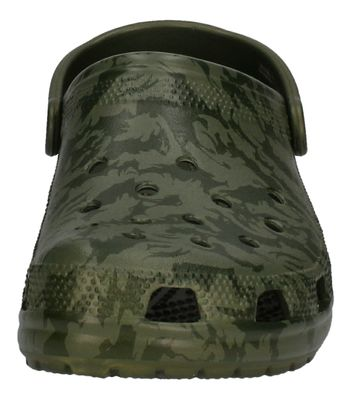 CROCS - Clogs CLASSIC PRINTED CAMO CLOG - army green preview 3