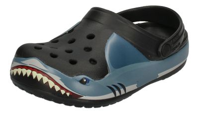 CROCS Kinderschuhe FunLab SHARK BAND Clog - black