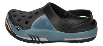 CROCS Kinderschuhe FunLab SHARK BAND Clog - black preview 2