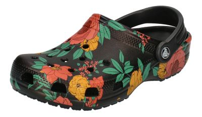 CROCS Schuhe CLASSIC PRINTED FLORAL CLOG floral black preview 1