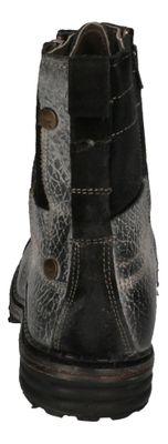 YELLOW CAB Schuhe reduziert Boots SERGEANT 18057 black preview 5