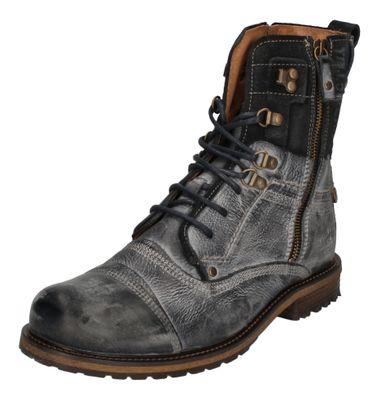 YELLOW CAB Schuhe reduziert - Boots SOLDIER 18017 blue