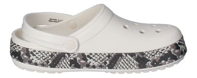 CROCS - Clogs CROCBAND SNAKE PRINT - oyster mushroom preview 4