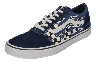 VANS in Übergrößen - WARD (Flame Check) - dress blues