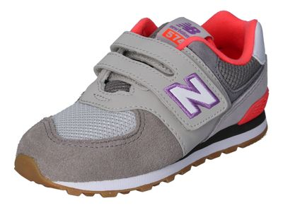 NEW BALANCE Kinderschuhe - Sneakers IV574SOC grey pink