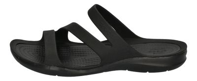CROCS Damenschuhe - SWIFTWATER SANDAL - black black preview 2
