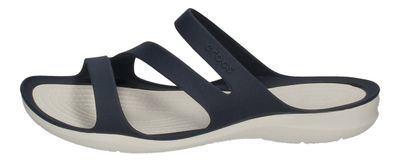 CROCS Damenschuhe - SWIFTWATER SANDAL - navy white preview 2