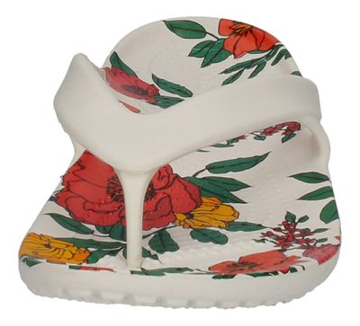 CROCS  - KADEE II PRINTED FLORAL FLIP - white floral preview 3