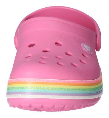 CROCS Kinder CROCBAND RAINBOW GLITTER CLOG pink lemonade preview 3