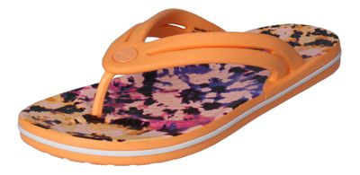CROCS Zehentrenner CROCBAND TIE DYE MANIA FLIP cantaloupe