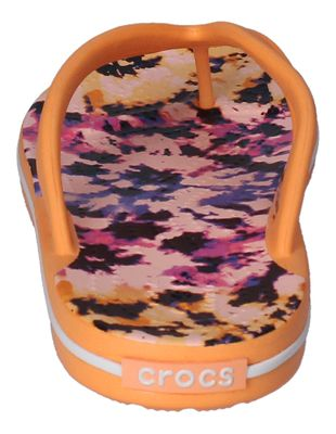 CROCS Zehentrenner CROCBAND TIE DYE MANIA FLIP cantaloupe preview 5