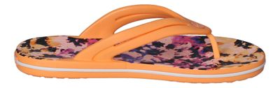 CROCS Zehentrenner CROCBAND TIE DYE MANIA FLIP cantaloupe preview 4