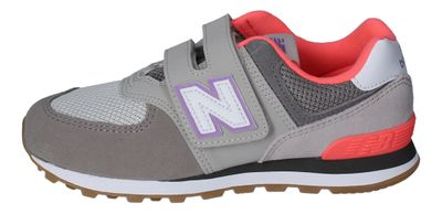 NEW BALANCE Kinderschuhe - Sneakers YV574SOC grey pink preview 2