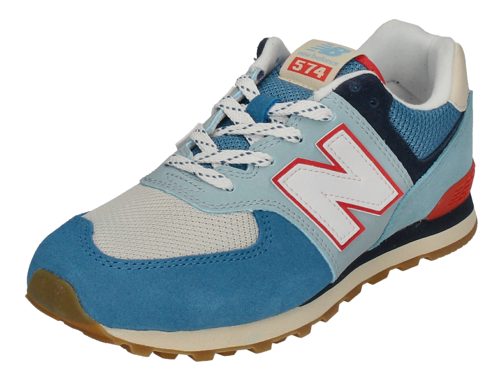 NEW BALANCE Kinderschuhe - Sneakers GC574SOS - blue multi_1