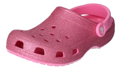 CROCS Teenager - CLASSIC GLITTER KIDS pink lemonade