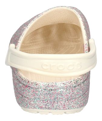 CROCS Teenager - Clogs CLASSIC GLITTER KIDS oyster preview 5