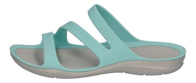 CROCS Damenschuhe SWIFTWATER SANDAL iceblue pearl white preview 2