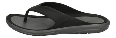 CROCS Schuhe - SWIFTWATER WAVE FLIP - black slate grey preview 2