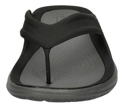 CROCS Schuhe - SWIFTWATER WAVE FLIP - black slate grey preview 3