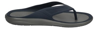 CROCS Schuhe - SWIFTWATER WAVE FLIP - navy slate grey preview 4