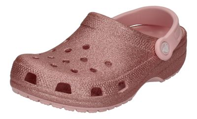 CROCS Teenager Clogs - CLASSIC GLITTER KIDS - blossom