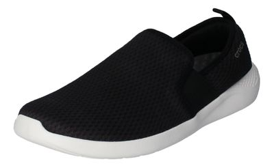 CROCS reduziert - LiteRide MESH SLIP ON - black white preview 1