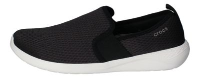 CROCS reduziert - LiteRide MESH SLIP ON - black white preview 2