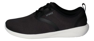 CROCS reduziert - LiteRide MESH LACE - black white preview 2