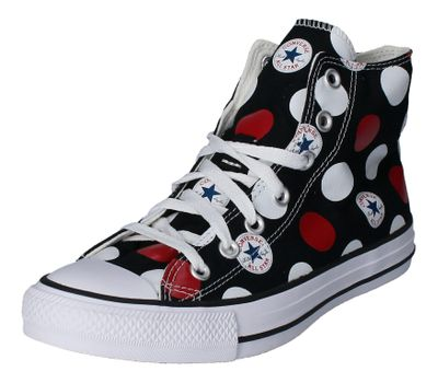 CONVERSE Damen Sneakers - CTAS HI 167857C - black white