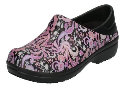 CROCS WORK - NERIA Pro II Graphic black paisley floral